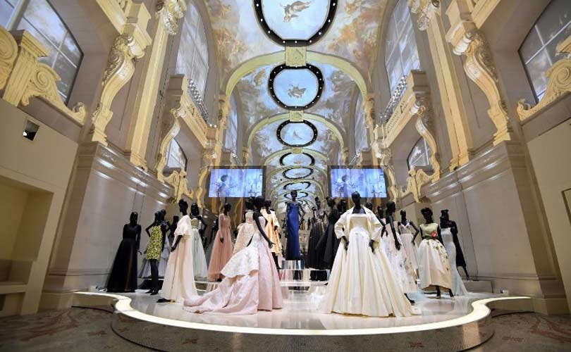70th Anniversary of the House of Dior at the Musée des Arts Decoratifs - Nave Ballroom - Museum fashion exhibitions, fashion exhibit, paris fashion exhibitions