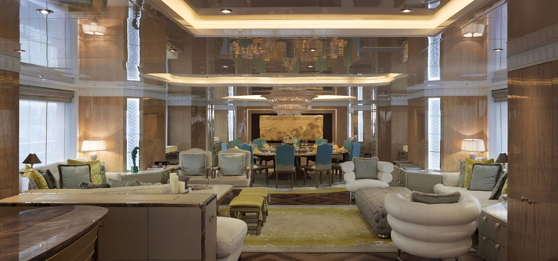 Top Interior Designers - Pamela Babey - BAMO - Lady Candy Yacht Lounge - Yacht designs - luxury interior design - yacht furniture - luxury furniture - luxury living top interior designers Top Interior Designers: Pamela Babey of BAMO BAMO LadyCandy MDLounge 19 copy