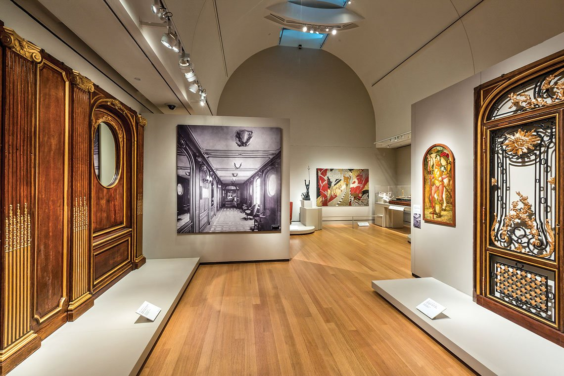 Peabody Essex Museum - Ocean Liners: Glamour, Speed & Style Exhibit