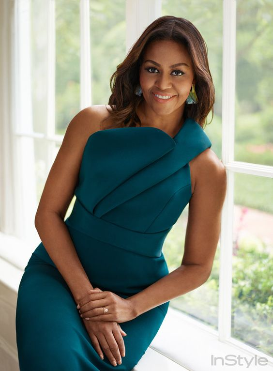 Women Empowerment: Michelle Obama Education - First Lady - Fashion Icon