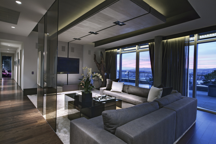 Top interior designers hawk co and founder summer jensen - The penthouse apartment in kiev when nature meets modern ...