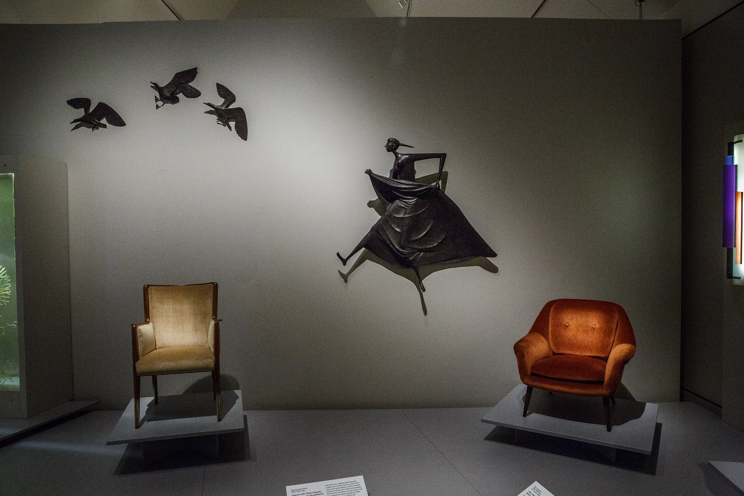 Peabody Essex Museum - Ocean Liners - Glamour, Speed & Style Exhibit - Luxury furniture - upholstered accent chairs