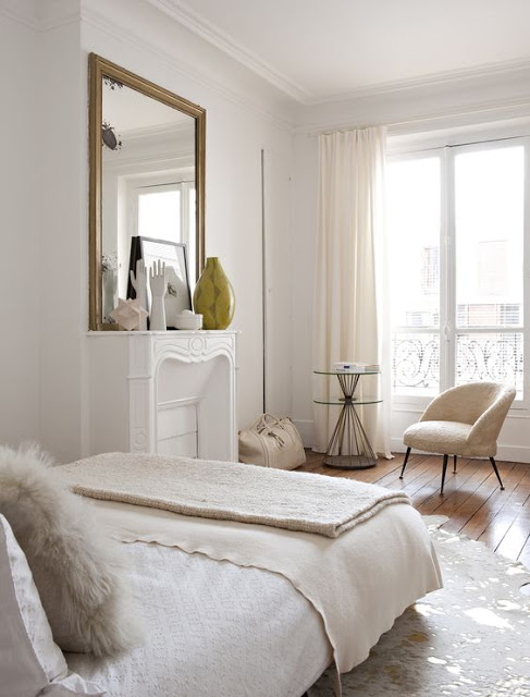 Interior Design Trends 2017 - ethereal-bed-master-bedroom-design-bedroom-décor - The elegant Paris apartment of interior designer Emilie Bonaventure interior design trends 2017 Best Interior Design Trends 2017 The elegant Paris apartment of interior designer Emilie Bonaventure