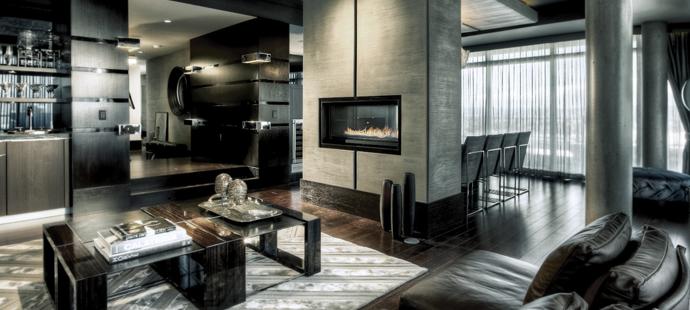 Luxury penthouses in los angeles according to developer for Top los angeles interior designers