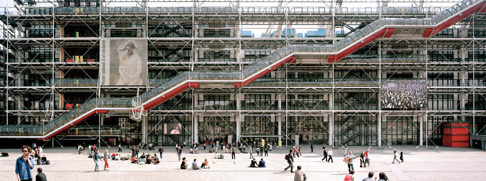 Centre Pompidou - National Museum of Modern Art, library and music center - Top Places to Visit During Paris Design Week and Maison et Objet 2017