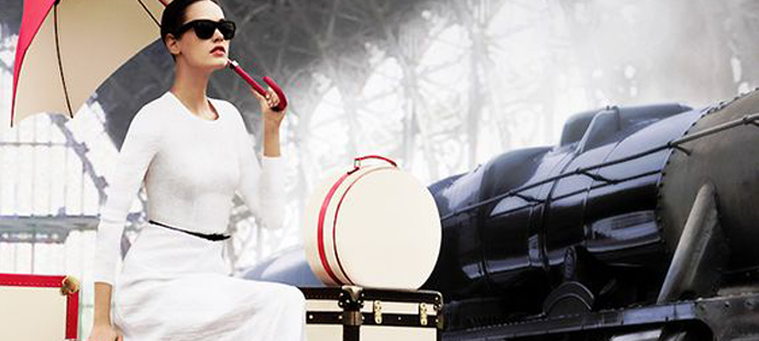 More Than Function: Traveling in Haute Style with Luxury Luggage - designer luggage - train travel in style