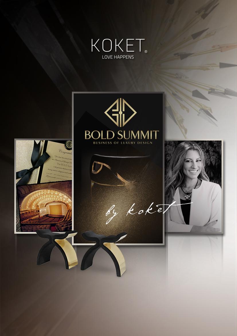BOLD Summit Interior Design Conference - KOKET Janet Morais - Business of Luxury Design