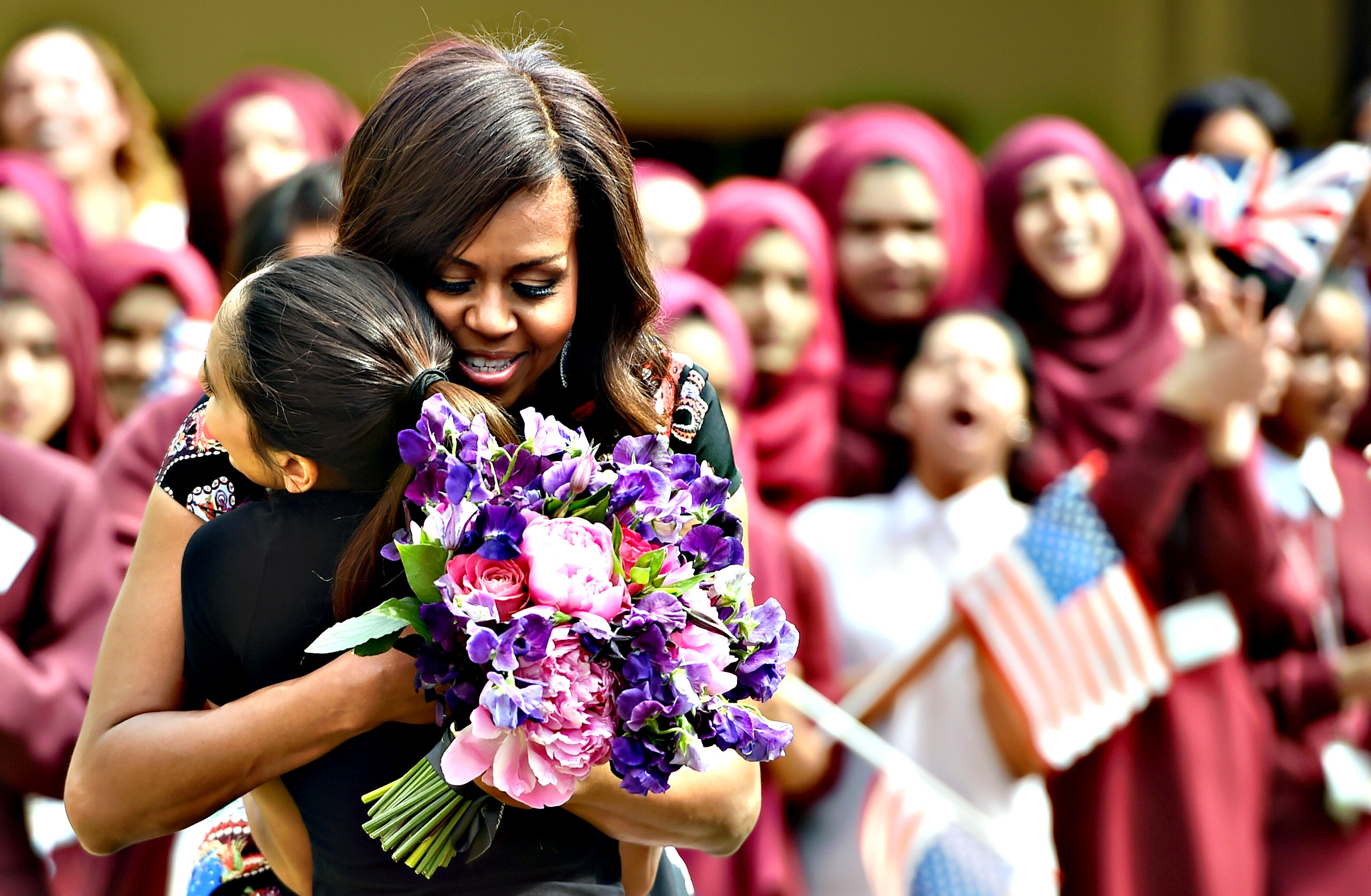 Women Empowerment: Michelle Obama Education - The First Lady Visits London As Part Of Her Let Girls Learn Initiative