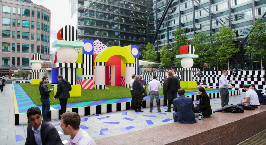 What's on in London this weekend? Villa Walala by Camille Walala at the London Design Festival 2017, London art installations what's on in london this weekend What's on in London This Weekend? Top Venues at London Design Festival view02