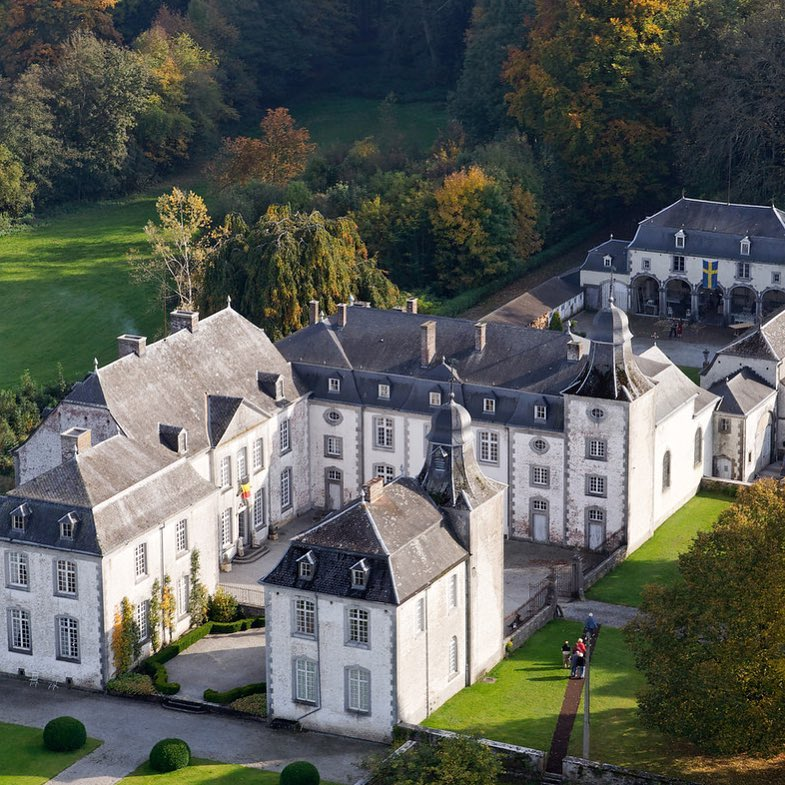 Chateau de Deulin - Belgium - Toma Clark Haines - The Antiques Diva Collection for Aidan Gray Photo shoot