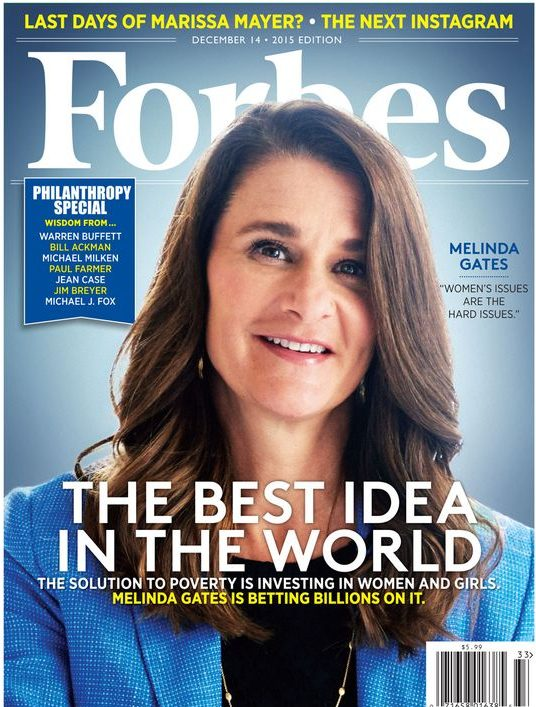Women Empowerment - Melinda Gates - Bill & Melinda Gates Foundation - Forbes Cover - The Best Idea in the World women empowerment Women Empowerment: Melinda Gates, The First Lady of Philanthropy 42187981a0d04c309eef8f5006acd4e7 e1507000724418