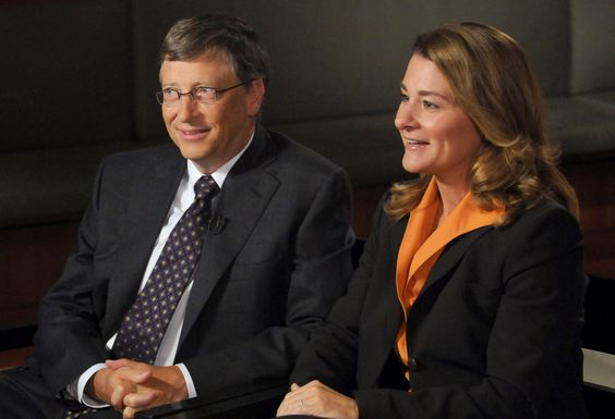 "Women Empowerment - Philanthropists, Bill and Melinda Gates are interviewed by Charles Gibson of ""World News"" to discuss the ""Living Proof Project"" on October 27, 2009 in Washington D.C.  The Living Proof Project is a multimedia presentation by the Bill & Melinda Gates Foundation intended to raise awareness of successful health initiatives around the globe.  (Photo by Fred Watkins/ABC via Getty Images) women empowerment Women Empowerment: Melinda Gates, The First Lady of Philanthropy 53490a42a92eb83ad08ca072134b712a"