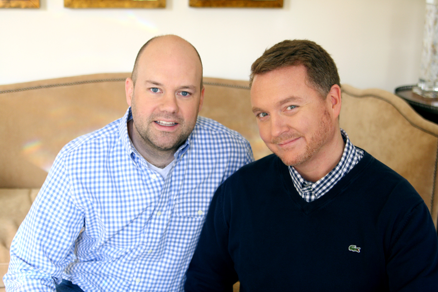 Lance Jackson and David Ecton of Parker Kennedy Living - High Point Market 2017 Style Spotters - Top interior designers