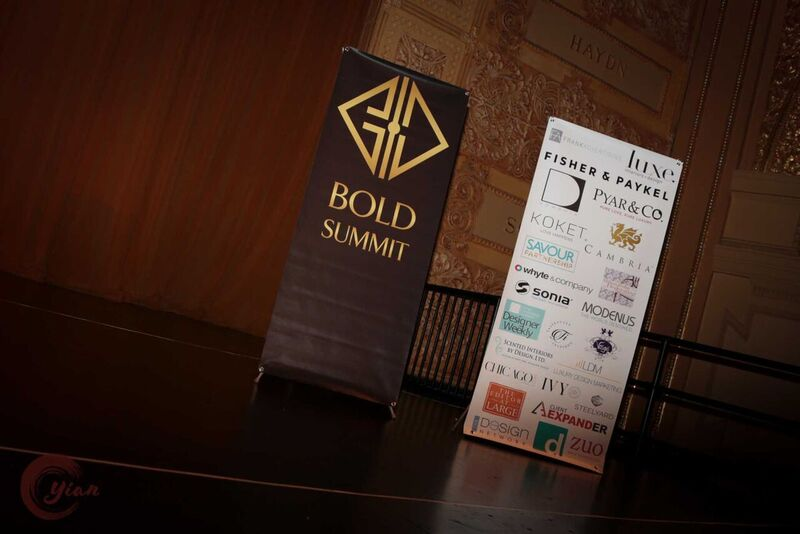 KOKET was one of many sponsors for this luxury event. Photography by Yian Quach of House Digital Design. BOLD Summit 2017 sponsors. Sexy chair