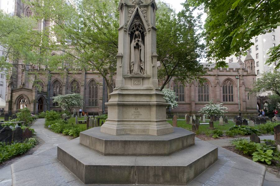 Famous Women in History - Caroline Schermerhorn Astor at Trinity Church famous women in history Things To Do in NYC: Finding New York City's Famous Women in History Caroline Schermerhorn Astor at Trinity Church