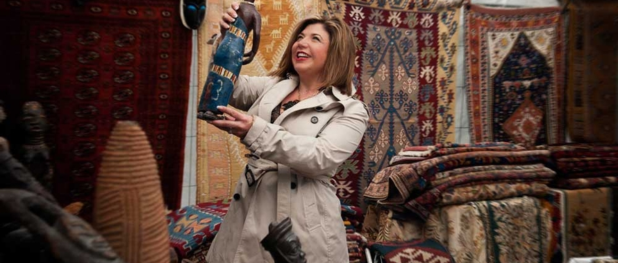 Toma Clark Haines - The Antiques Diva - Trade Antique Source - The Diva Brand - Best Antique Buying Tours - Help buying antiques