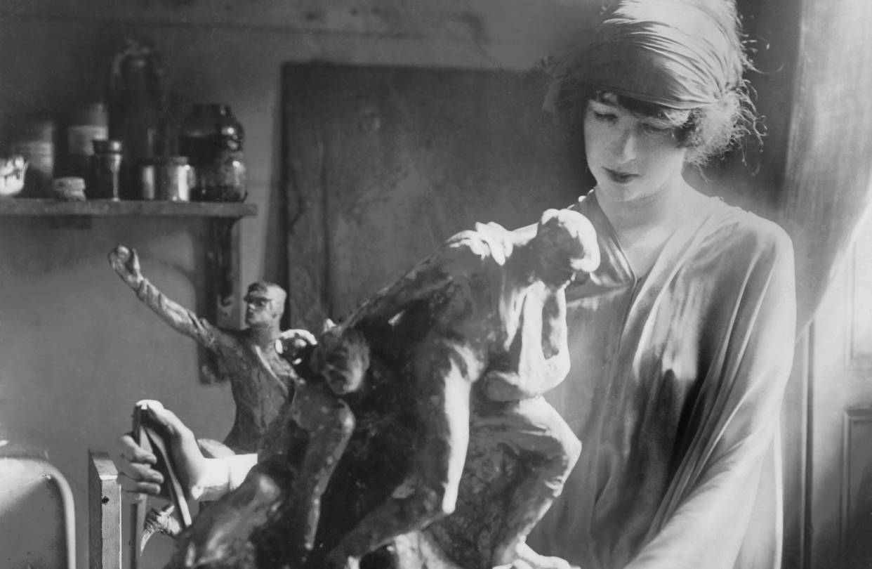 Famous Women in History - Gertrude Vanderbilt Whitney at Her Greenwich Village Studio - important women in nyc history famous women in history Things To Do in NYC: Finding New York City's Famous Women in History Gertrude Vanderbilt Whitney at Her Greenwich Village Studio