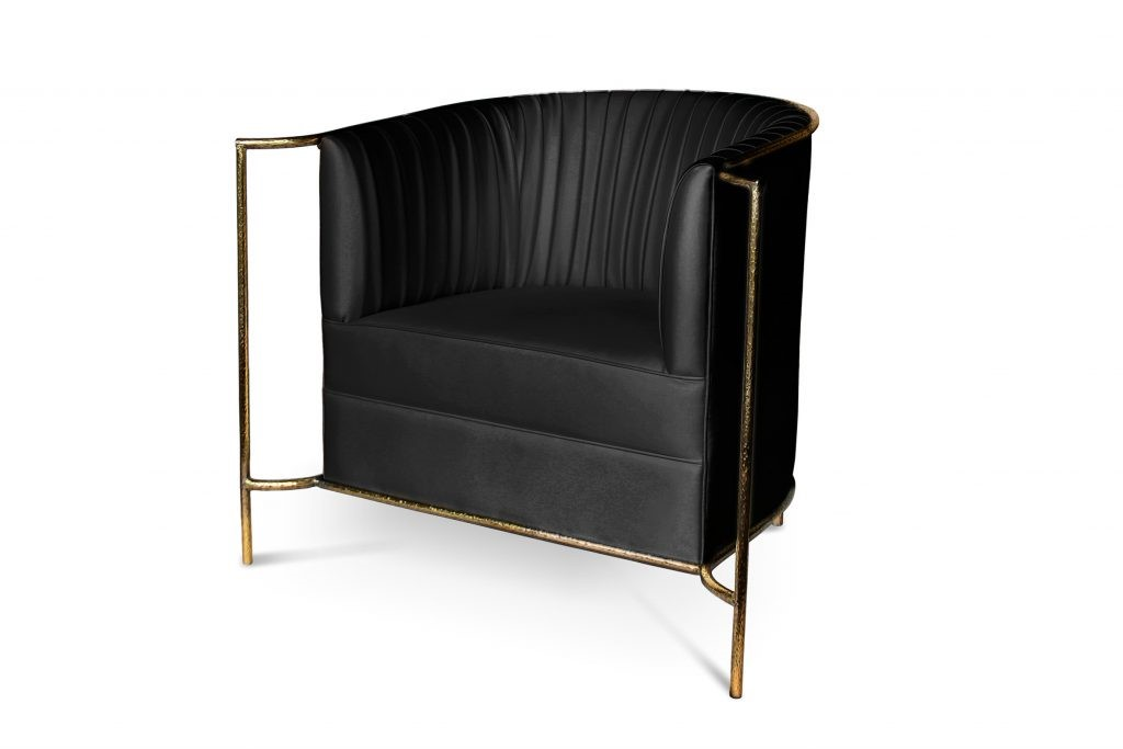 KOKET Desire Chair Black - black and gold chair - sexy chair