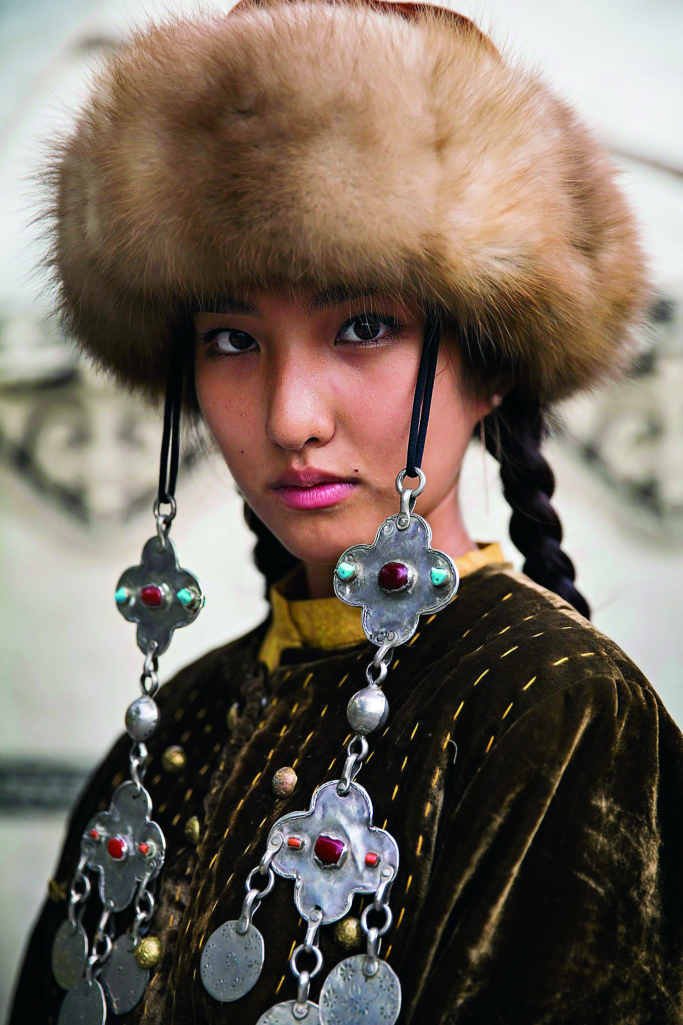 Name not provided Kyrgyzstan - The Atlas of Beauty - Women of the World in 500 Portraits Book by Mihaela Noroc - Women empowerment