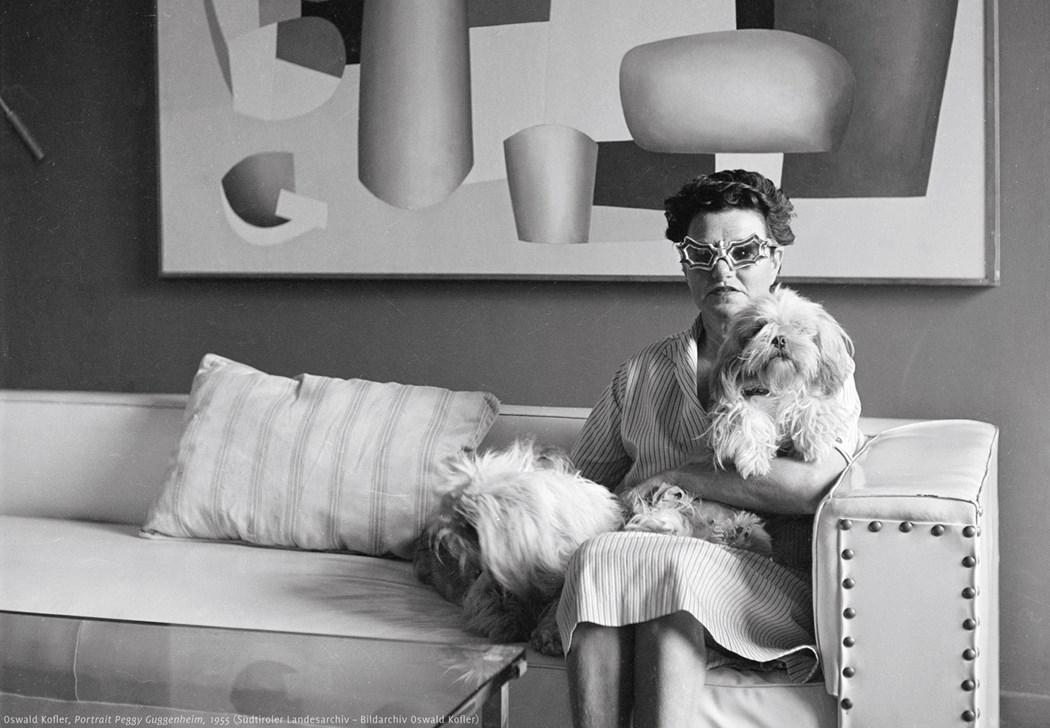 Famous Women in History - Peggy Guggenheim - Guggenheim museum