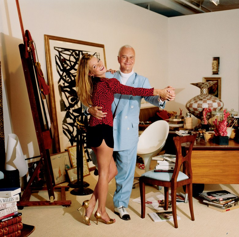 Inside the Manolo Blahnik Documentary - Photographed by Jonathan Becker, Vogue, November 2003 - Designer shoes - Luxury shoes - top shoe designers