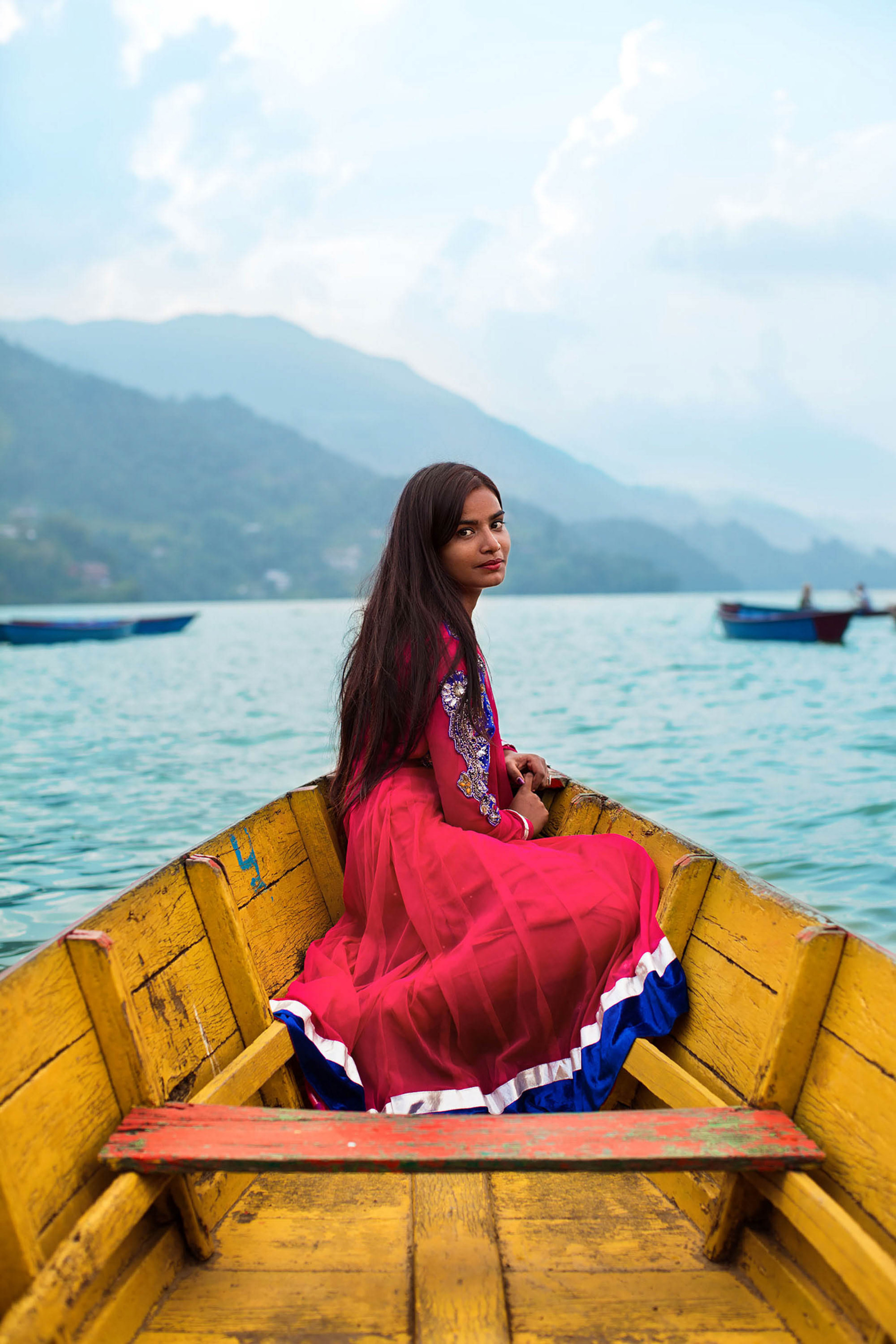 Name not provided Pokhara, Nepal - The Atlas of Beauty - Women of the World in 500 Portraits Book by Mihaela Noroc - women empowerment
