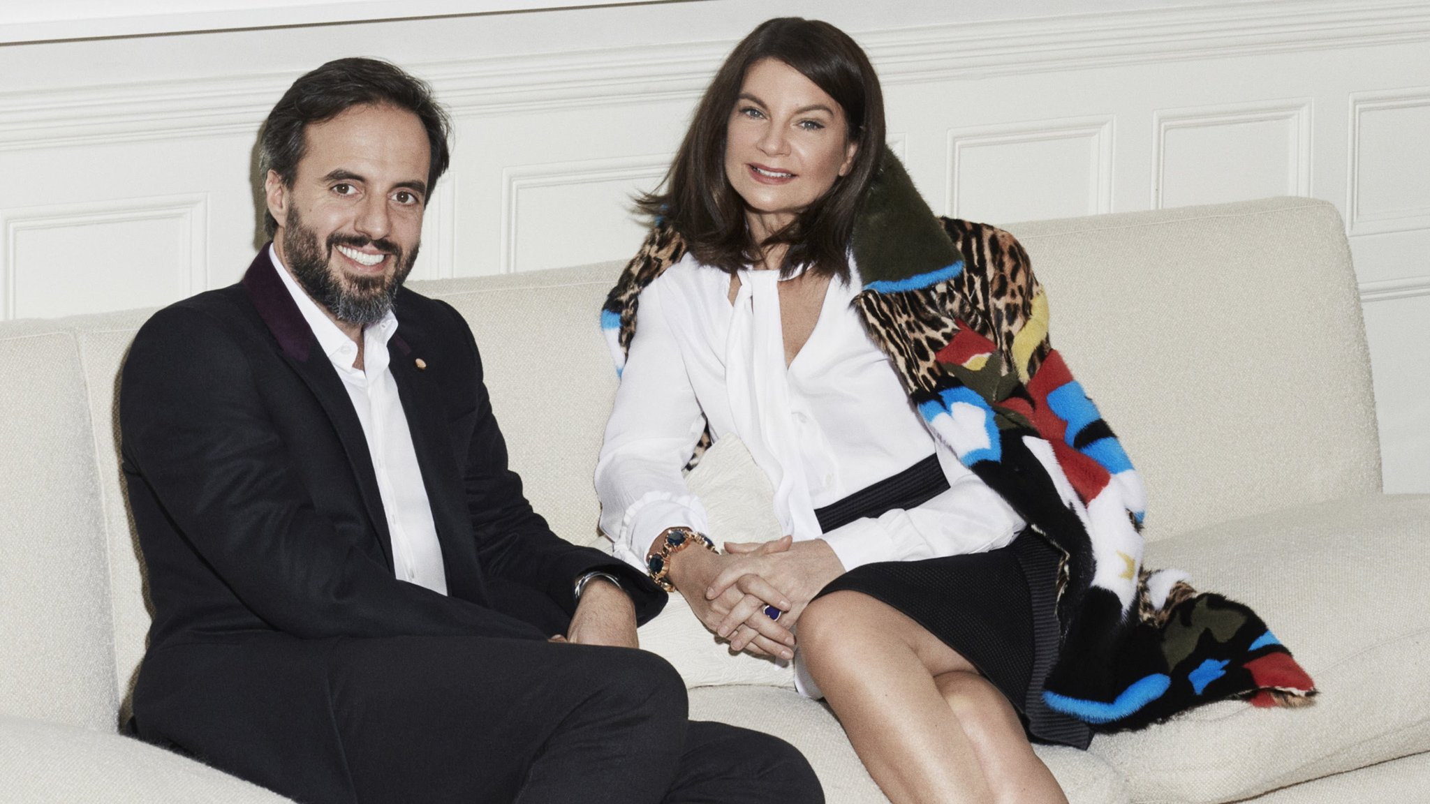Jose Neves and Natalie Massenet - Farfetch - Women Empowerment - Powerful women in business - Founder of Farfetch natalie massenet Women Empowerment: Net-a-Porter Founder Natalie Massenet b54ee470 fde3 11e6 8d8e a5e3738f9ae4