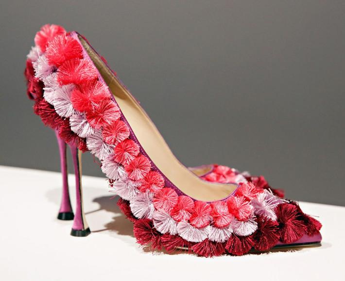 Inside the Manolo Blahnik Documentary - Pom pom pumps - luxury shoes - designer shoes - fashion designer - fashion brands - top shoe designers