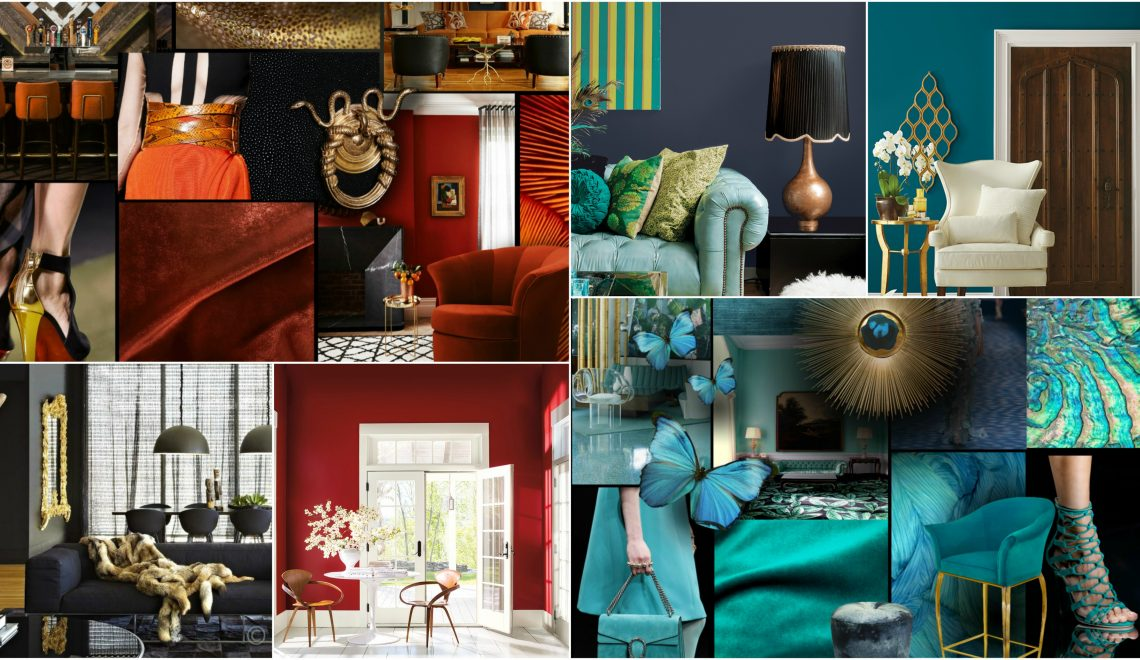 Color of the year 2018 or should we say colors for Interior design trends 2018