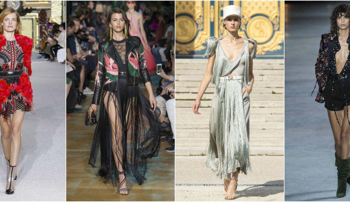 Paris Fashion Week 2017 - Balmain, Elie Saab, Nina Ricci, Chanel