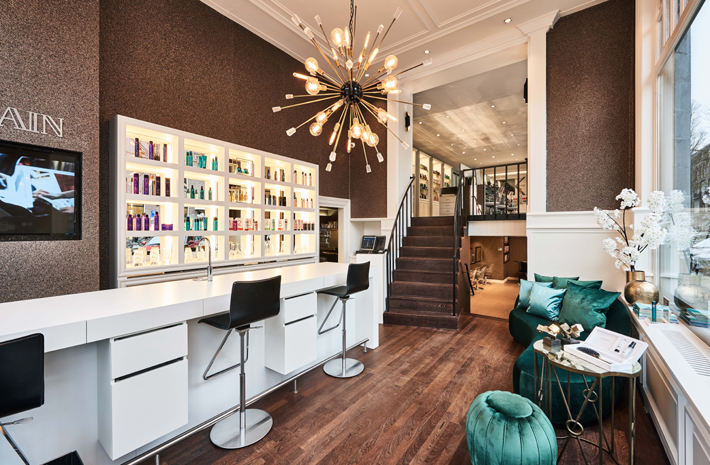 Hairbar by Eric Kuster - Top Interior Designers - Metropolitan Luxury - hair salon interior design