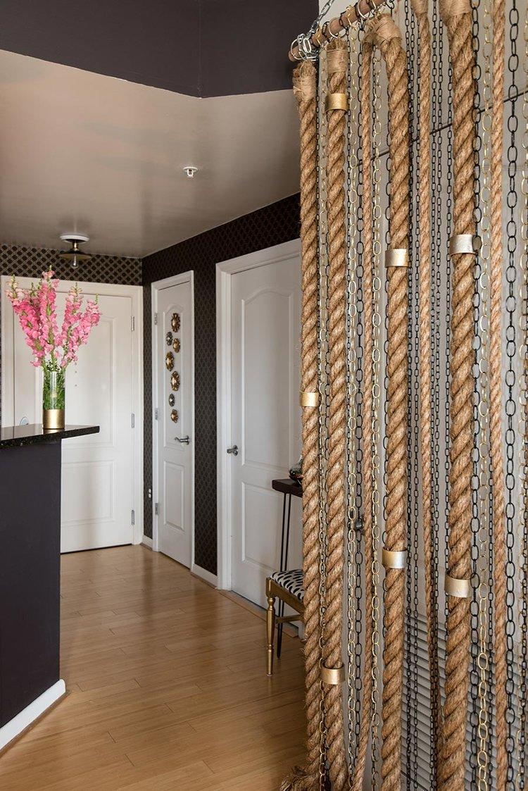 rope and chains installation decor washington dc mariella cruzado diy splendor styling