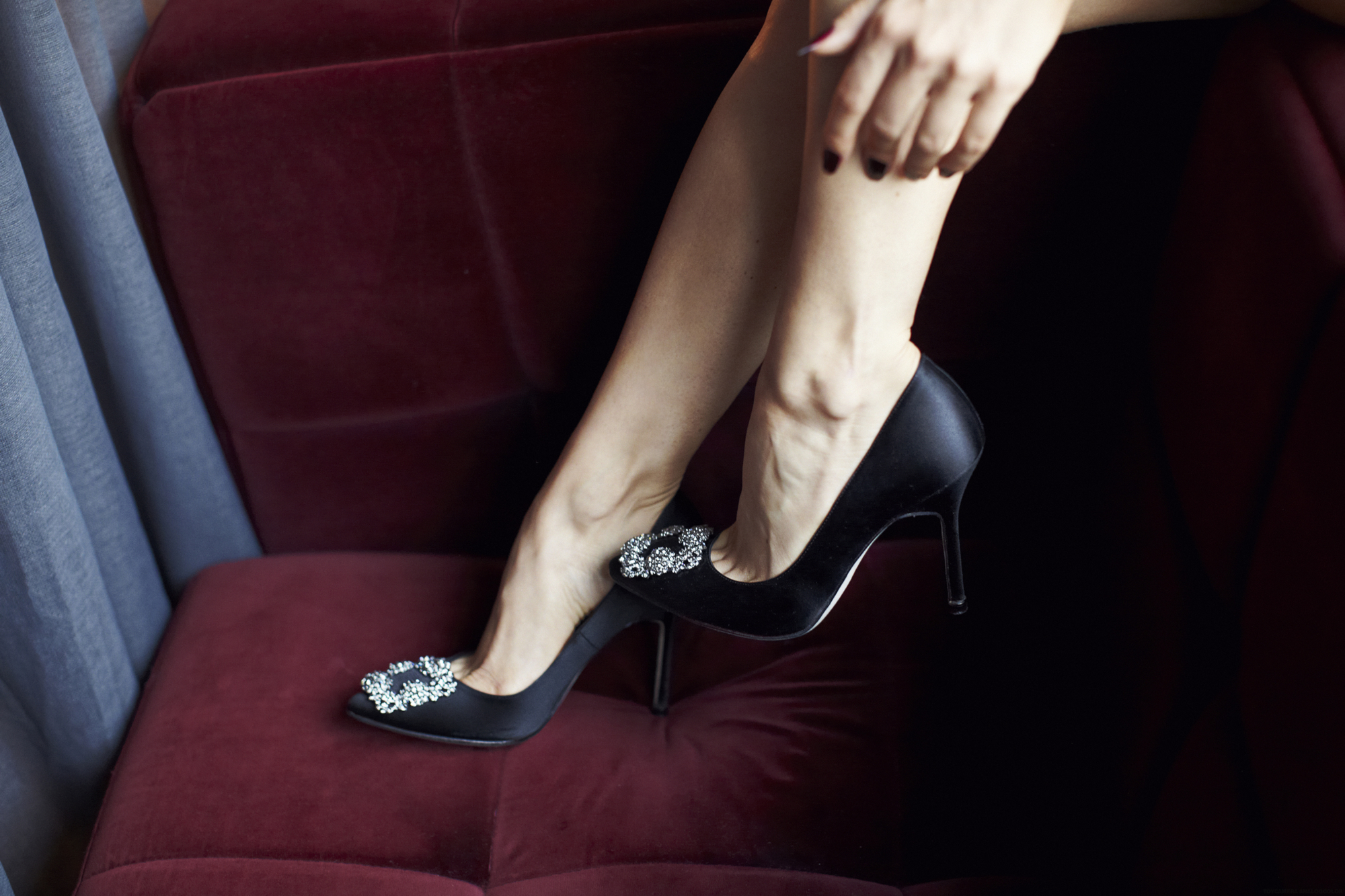 Inside the Manolo Blahnik Documentary - Sex and the City - Carrie Bradshaw Manolo Blahnik Hangisi Shoes - wedding shoes