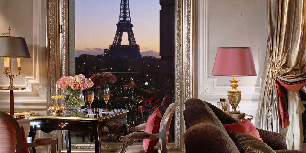 Eiffel Suite Hotel Plaza Athenee Paris - most luxurious cities in the world