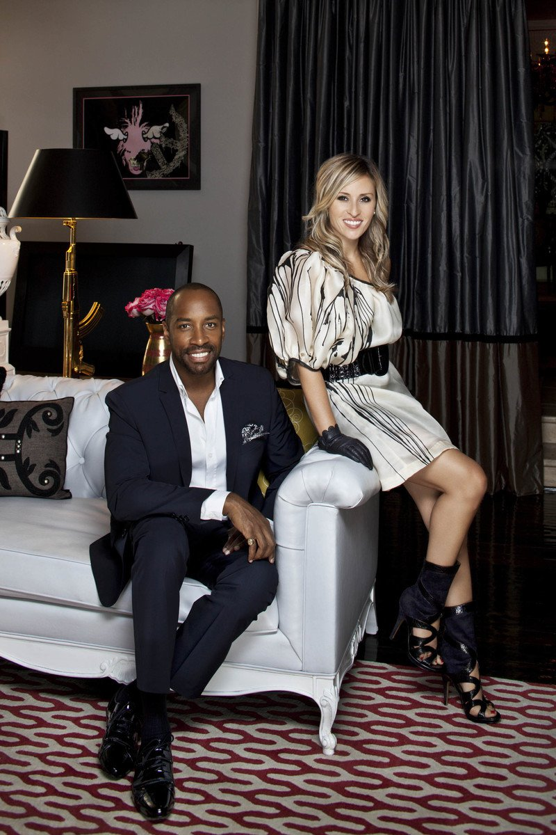 Ron Woodson and Jamie Rummerfield of Woodson and Rummerfields House of Design - High Point Market 2017 Style Spotters - Furniture trends 2017 - Top interior designer in los angeles - top interior designers in hollywood