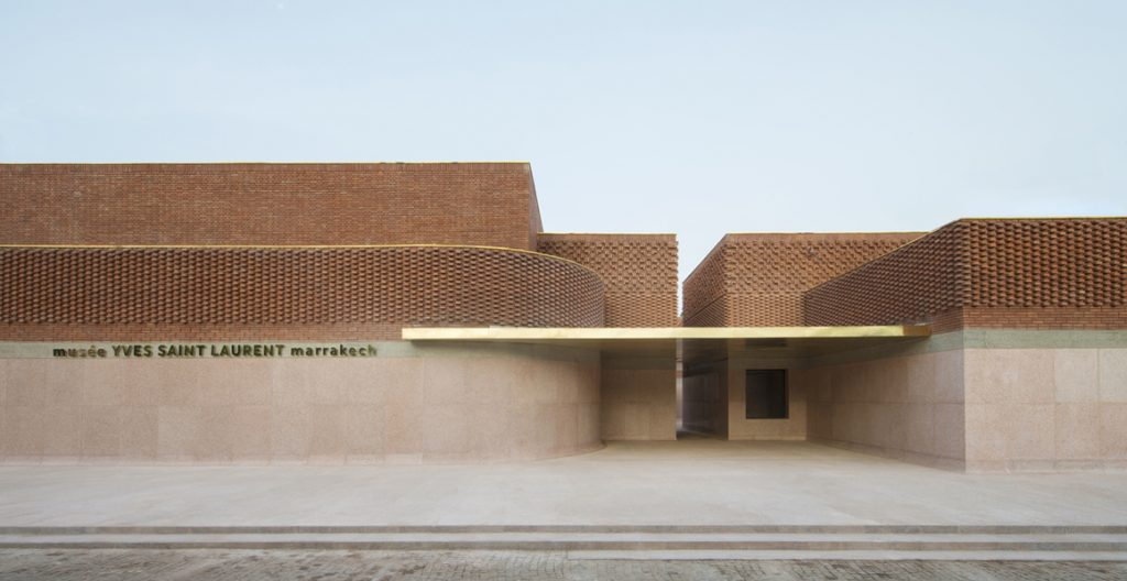 Musee Yves Saint Laurent Marrakech - YSL Foundation - top fashion designer 20th century - architecture by Studio KO