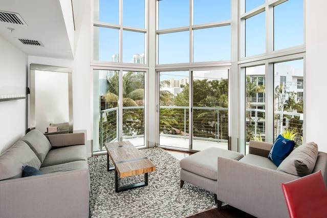 The Most Luxurious Places to Stay in Miami for Art Basel - Airbnb Miami Beach - Roof Top Pool - miami beach vacation rentals