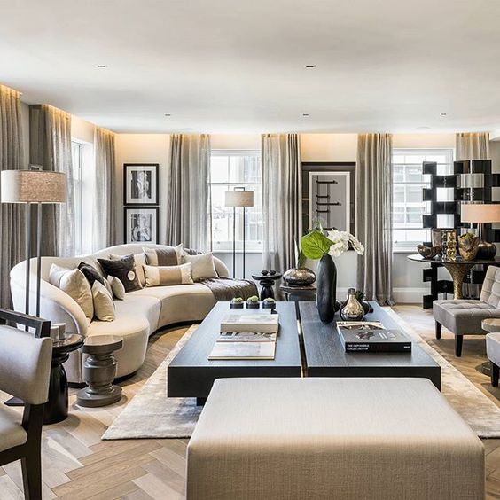7 Things Interior Designers Will Instantly Know About You and Your Home - living room design ideas - interior design tips - luxury furniture - luxury sofas - floor screens - Interior Design by Kelly Hoppen