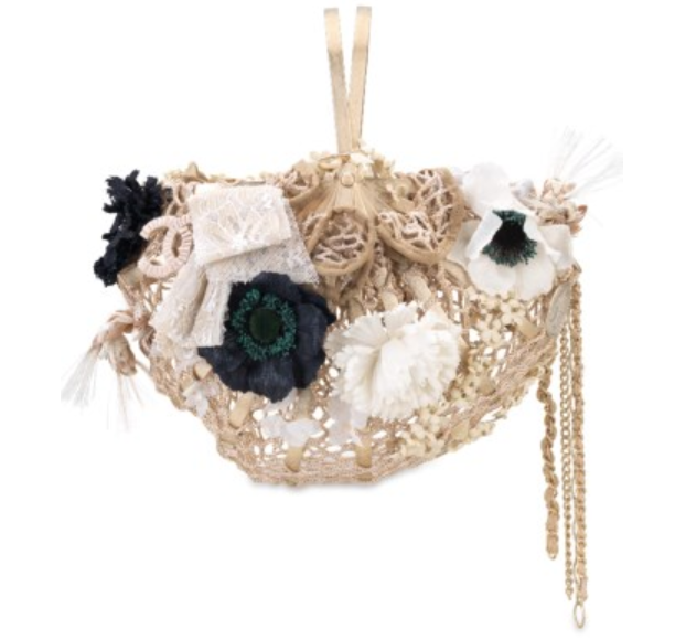 Designer Vintage - Christies Auction - A Limited Edition Straw Bird Basket Bag with Gold Hardware by Chanel, 2010 - basket purse - chanel purse - chanel handbag - vintage chanel - secondhand designer purses - preowned designer handbags