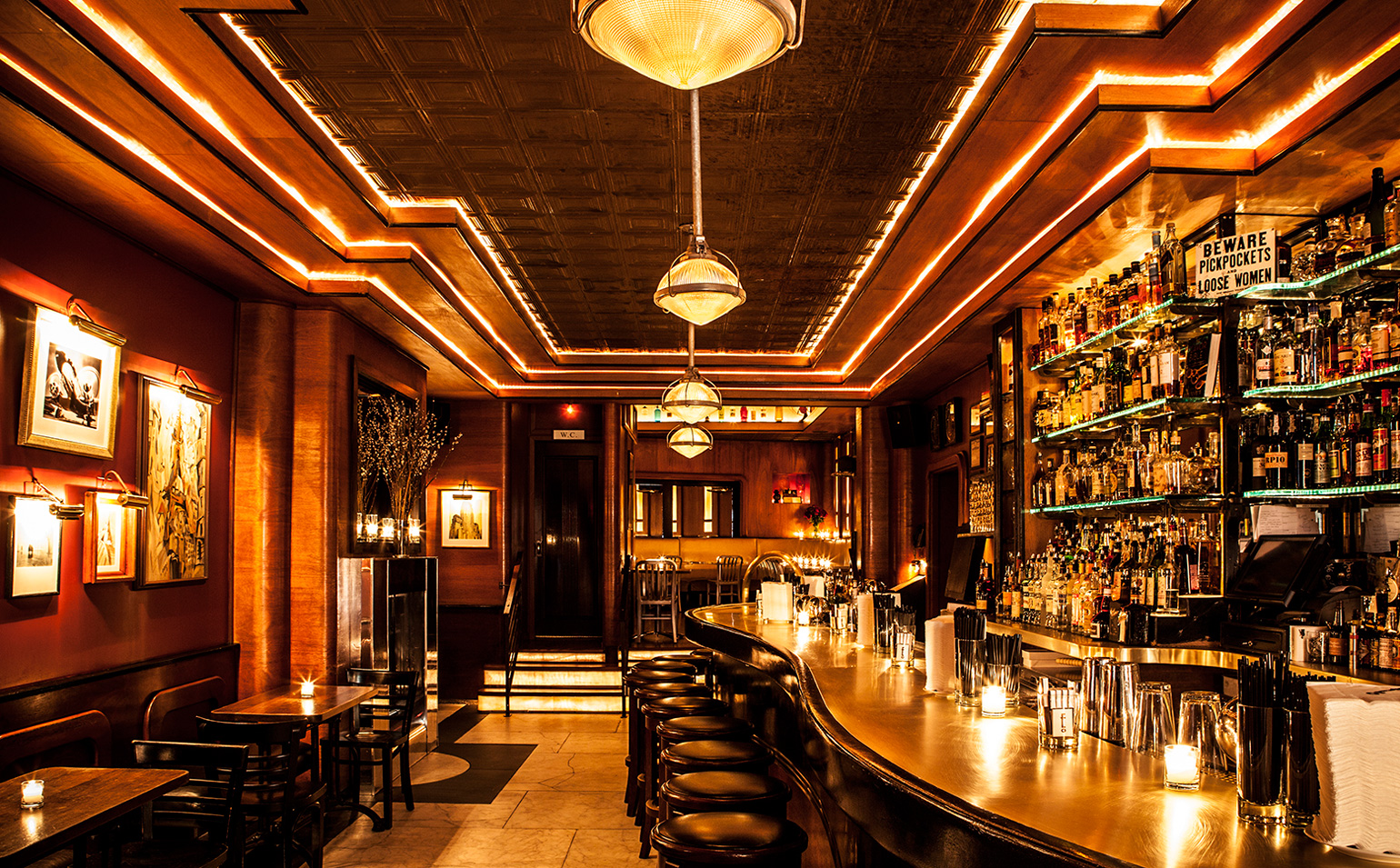 Best Bars in the World - employees only nyc - employees only - new york bars - best bars in new york - luxury bars - nyc bars - places to eat in nyc
