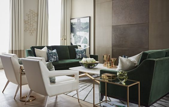 Park Crescent Taylor Howes Top Interior Designers in London - emerald green living rooms - green and white living rooms - living room design ideas - beautiful living rooms - best interior designers in london