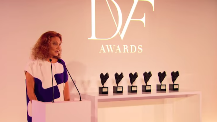 women empowerment - diane von furstenberg - fashion icons - dvf awards - dvf awards 2017