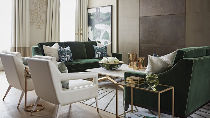 Park Crescent Taylor Howes Top Interior Designers in London - emerald green living rooms - green and white living rooms - living room design ideas - beautiful living rooms - best interior designers in london - modern living rooms