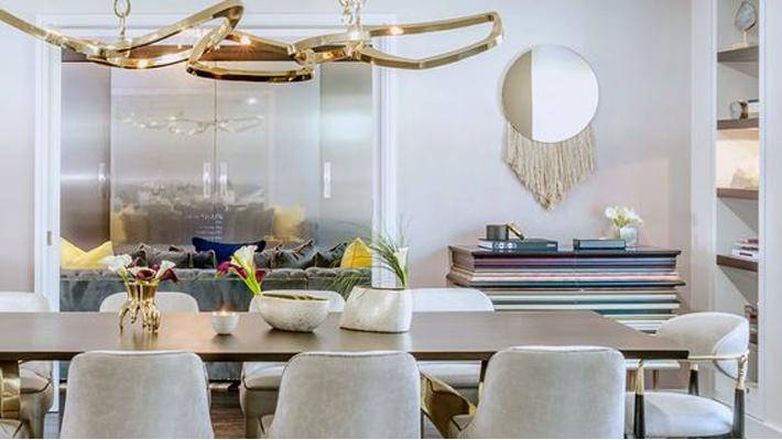 Top Interior Designers New York - Vanessa DeLeon Associates - dining room designs - koket nahema dining chairs - glamorous dining chairs - luxury dining chairs - luxury furniture
