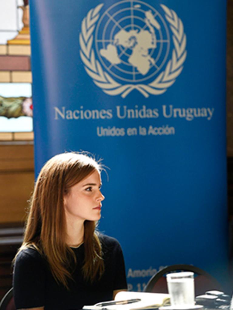 West Amazonaws Elle UK Emma Watson Montevideo Uruguay United Nations - women empowering women - women empowerment - women's rights around the world