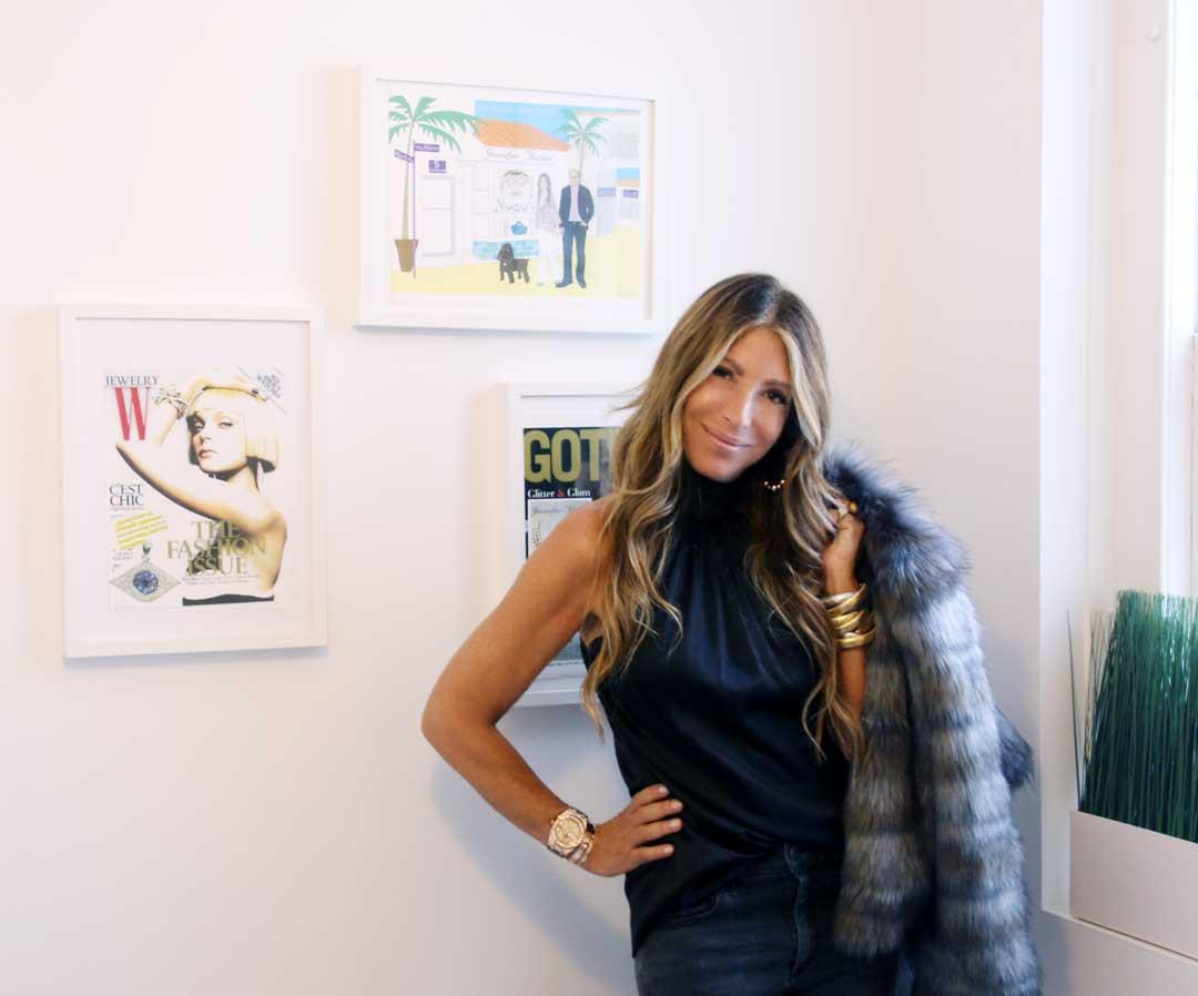 fur coat - jewelry designer - top designer - jewels by jen