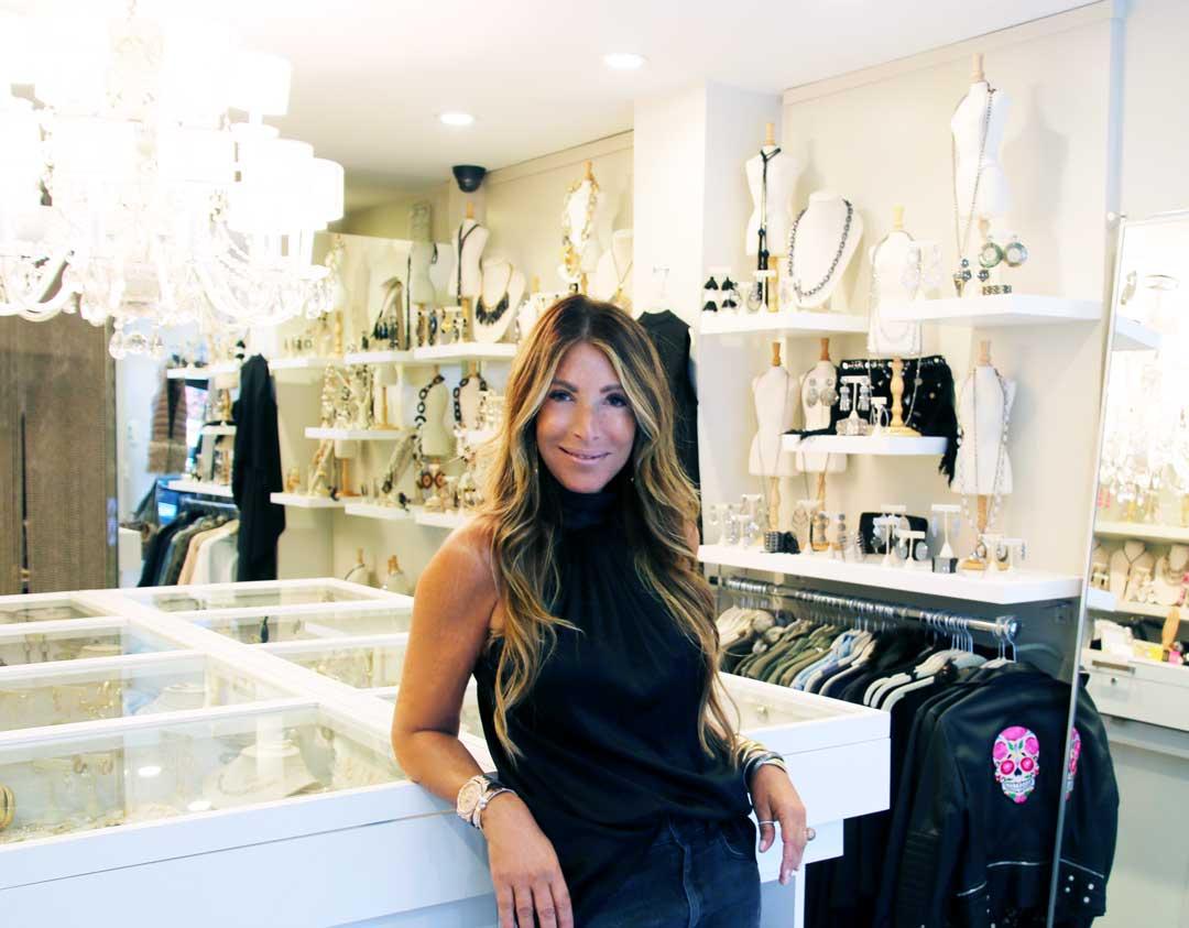 empowering women - blonde - jewelry store - designer jewelry store