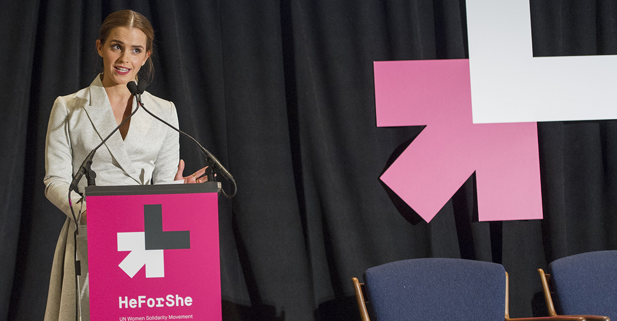 Emma Watson He for She event - gender equality - women empowerment