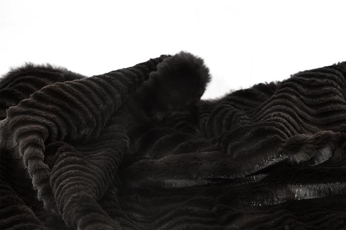 fur fashion - christmas gift guide - gift guide 2017 - luxury women - rabbit fur throw - fur throw - rabbit fur - best gifts for women
