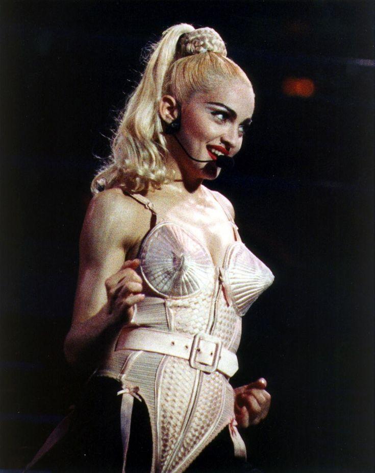 madonna - blonde ambition tour - blonde ambition - rock star - pop star - queen of pop